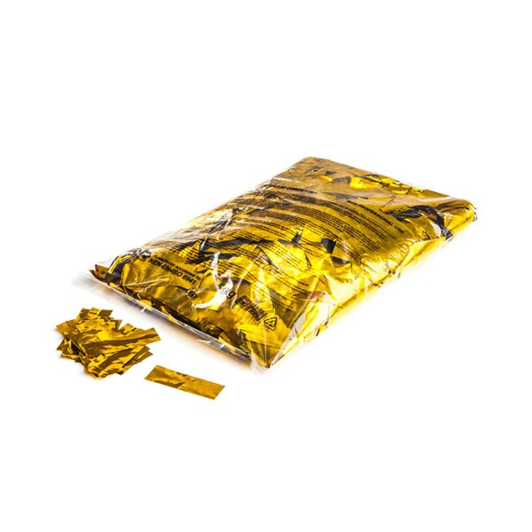 Magicfx Metallic confetti rectangles 55x17mm - Gold
