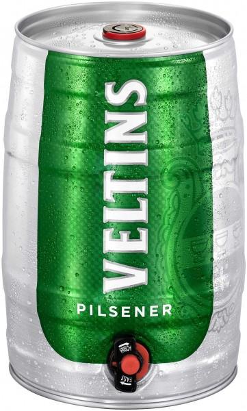 Veltins Pilsener 5 Liter Partyfass 4,8% vol.