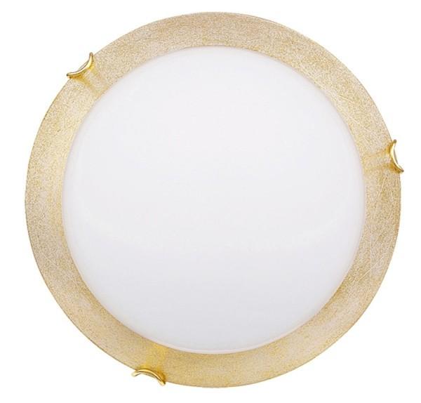 Rabalux Connie Wand- und Deckenleuchte weiß/ gold/ goldfarbene Kralle