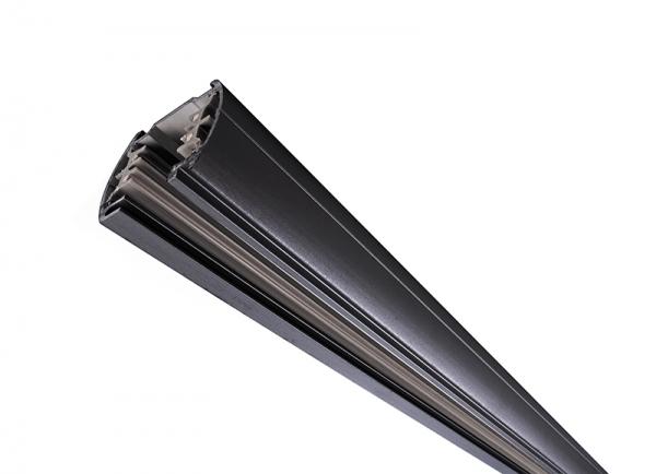 IVELA Stromschiene 3-Phasen 230V rund 2m schwarz