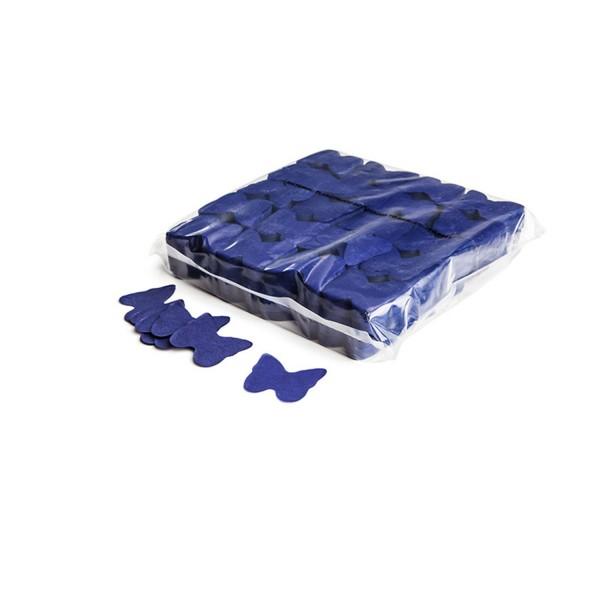 Magicfx Slowfall confetti butterflies Ø 55mm - Dark Blue
