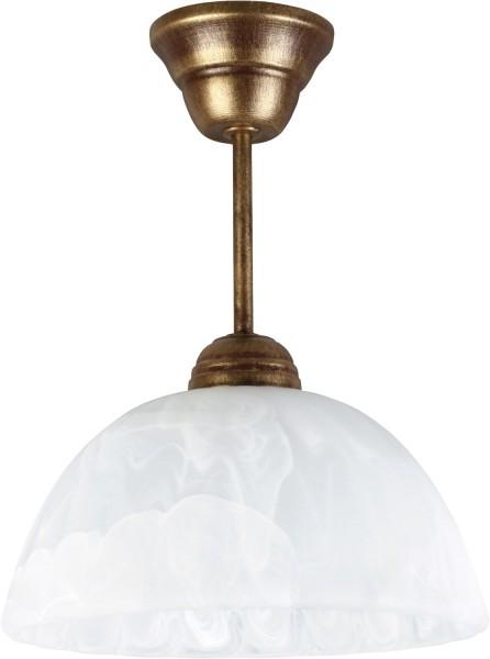 066/Z B/Z - Lampex Pendelleuchte 066 / Z B + Z metal/glass 30 x 22 cm