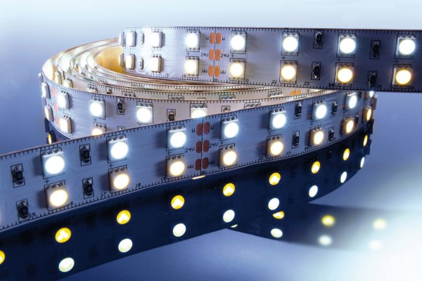 KAPEGO LED Stripe WW+CW 3m 24V IP20 360 LED´s