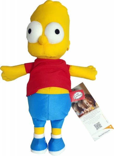 Kinder Raps Wärmekissen Bart Simpson 63702 circa 35 cm
