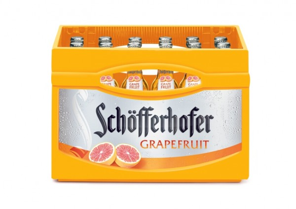 24 x Schöfferhofer Weizen-Mix Grapefruit 0,33 L 2,5% vol. Originalkiste