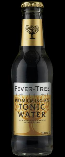 24 x Fever-Tree PREMIUM INDIAN TONIC WATER 2ooml Glasflasche Mehrweg