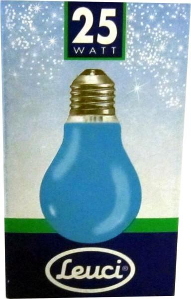 Goccia 230V - E27 blau Glühlampe