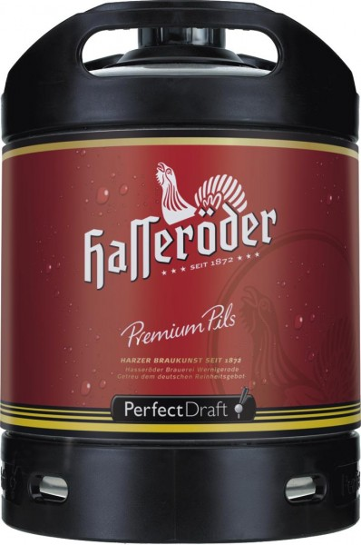 Hasseröder Perfect Draft Premium Pils 6 Liter Fass 4,9 % vol.