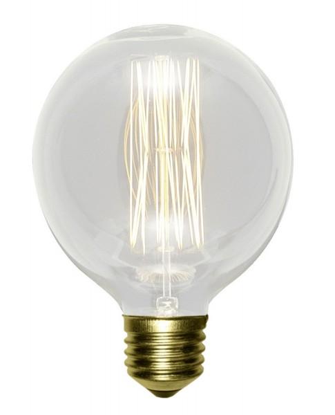 351/G80 - Lampex Dekorative Glühbirne G80 glass E27 8 x 11,5 cm