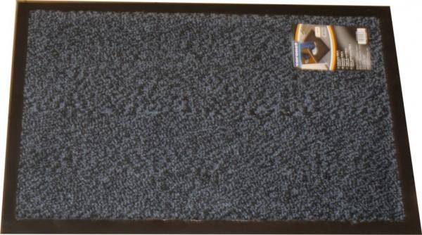 Coronet 3 Stück Finca Schmutz saugstark, Set, 60 x 40 cm, Blau/Braun/Grau