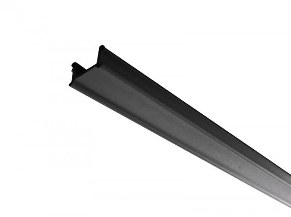 IVELA Stromschiene 3-Phasen 230V Abdeckung Schwarz