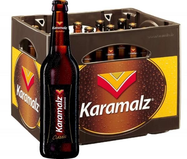 Karamalz Classic Malzdrink - Alkoholfrei 20x0,5l - Originalkiste MEHRWEG