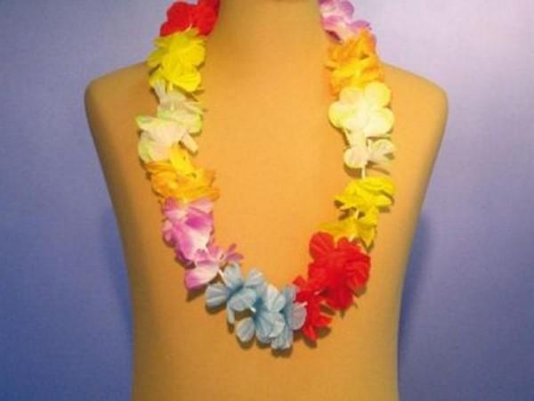 Hawaiikette Blüte Design