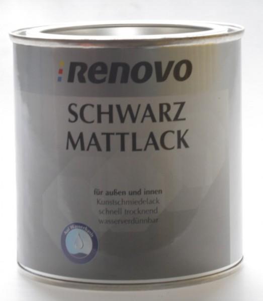 Schwarz Mattlack 375ml