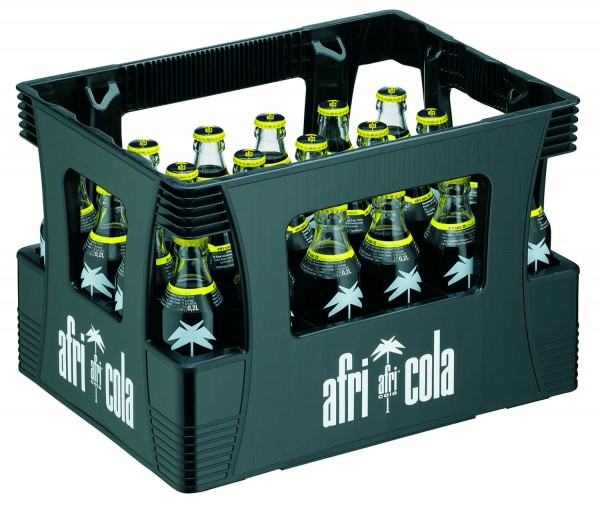 24 x Afri Cola 25mg 0,2L Originalkiste Glasflasche