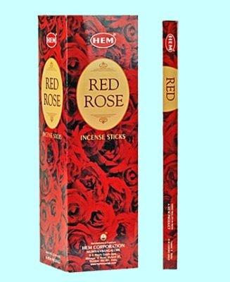 Räucherstäbchen HEM Red Rose