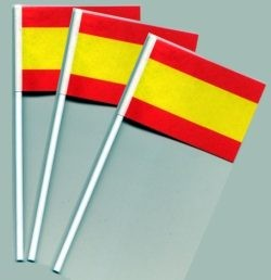 Fähnchen ...Spanien