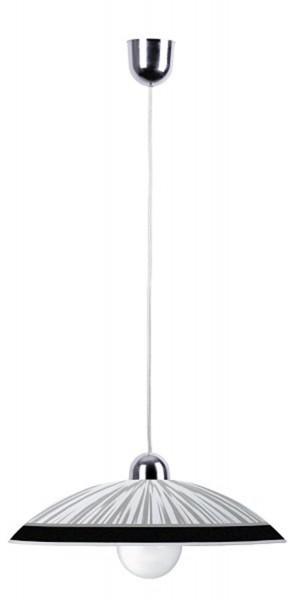 Rabalux Sphere Pendelleuchte weiß/schwarz