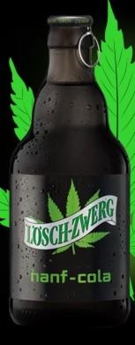20 x Löschzwerg Hanf-Cola 20x0,33L Glasflasche MEHRWEG