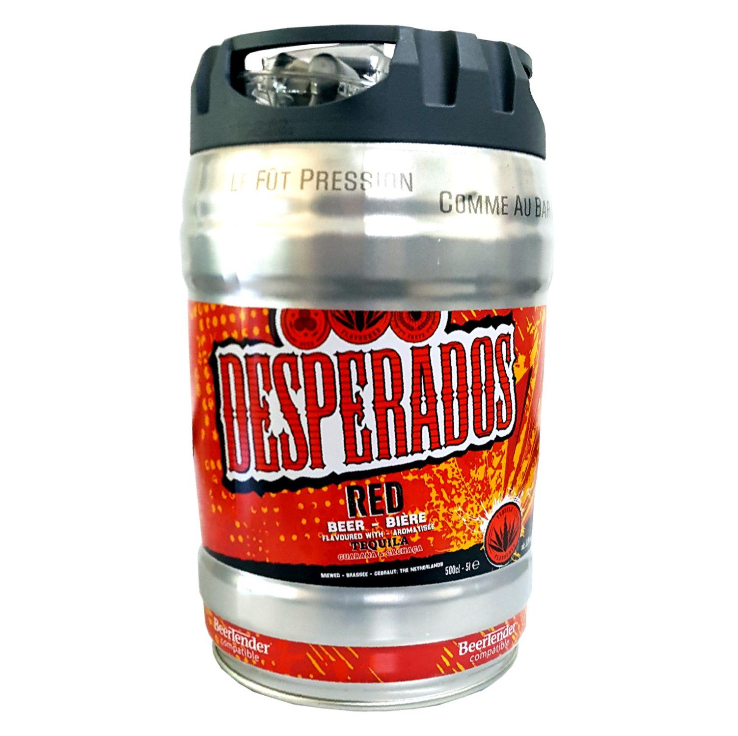 Desperados Red Bier Mit Tequila Guarana Cachaca Partyfass Online Kaufen Schnelle Lieferung Auch Online Auf Rechnung Kaufen My Food Online