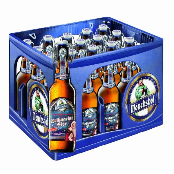 Kulmbacher Mönchshof Weihnachts Bier 0,5 L 5,6% vol. in Originalkiste