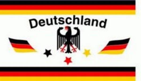 Fahne Deutschland mit Adler 90x150 cm