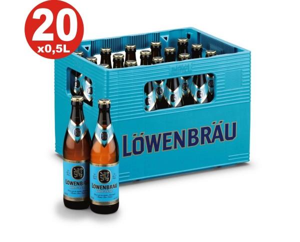 20 x Löwenbräu Original 0,5 L 5,2 % vol. Originalkiste MEHRWEG