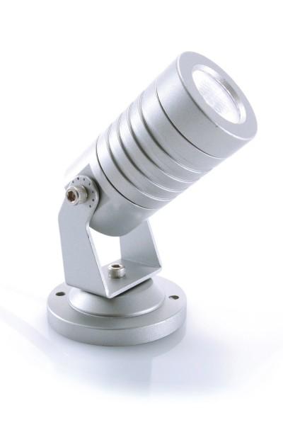 KAPEGO LED Mini 230V 3W silber WW IP65