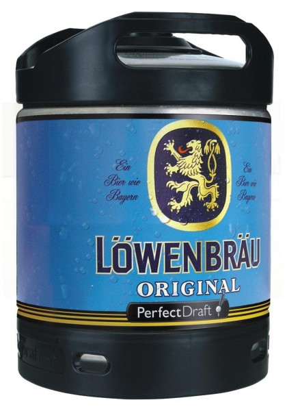 Löwenbräu Original Perfect Draft 6 Liter Fass 5,2 % vol