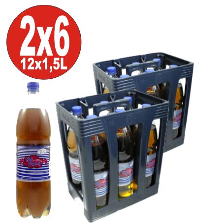 12 x Big Pump Energy Drink mit Gummibärchen Geschmack 1,5 Liter- EINWEG