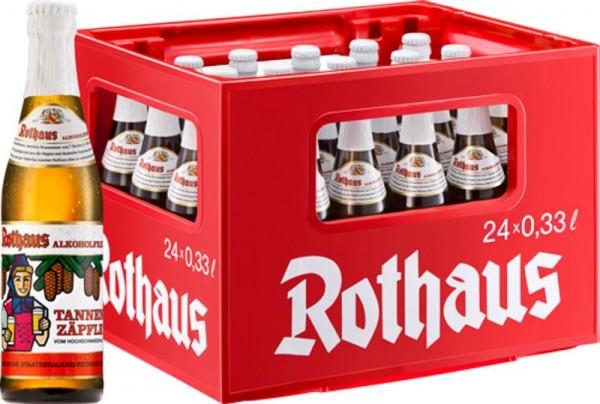 24 x Rothaus Alkoholfrei Tannenzäpfle 0,33 L Originalkiste