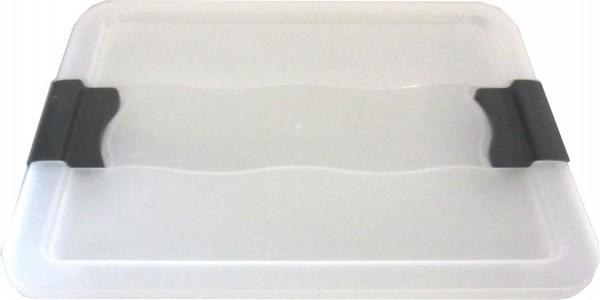 5 x Deckel für OKT Kristallbox 7L + 12 L+ 24L transparent