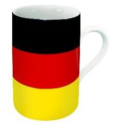 Flaggentasse ...Deutschland