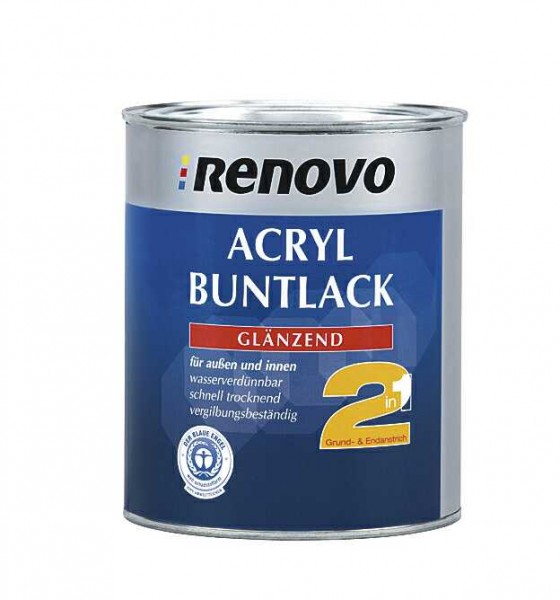 Acryl Glanzlack 2in1 6005 moosgrün