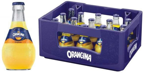 15 x Orangina Limonade gelb 0,25l Glasflasche in Originalkiste MEHRWEG