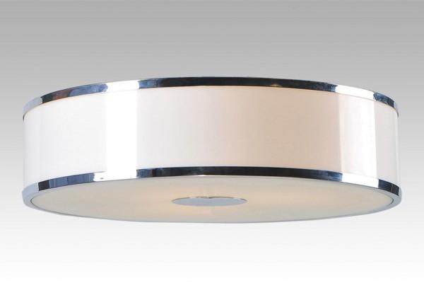 163/3P - Lampex Plafond Della 3P metal/glass/PVC 7 x 40,5 cm