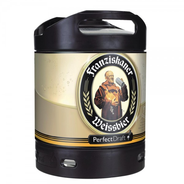 Franziskaner Weissbier Perfect Draft 6 Liter Fass 5,0 % vol.