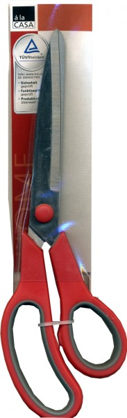 Haushaltsschere mit Kunststoffgriff ca. 23 cm