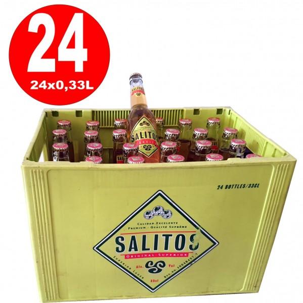 24x Salitos Cerveza Tequila Bier 0,33L 5.9% vol.alc. MEHRWEG