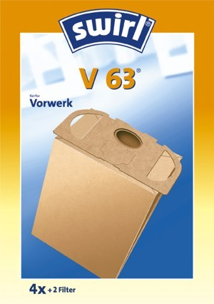 Swirl Staubfilterbeutel V63 Micropor