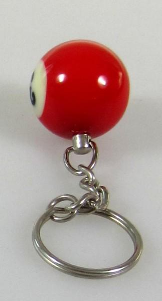 Schlüsselanhänger - Billiardkugel