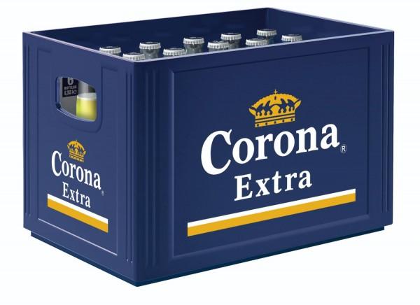 24 x Corona Extra Premium Lager Bier 0,355 L 4,5% vol. Originalkiste MEHRWEG