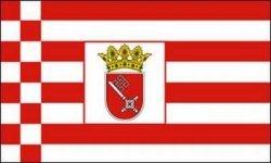 Fahne Bremen 90 x150 cm