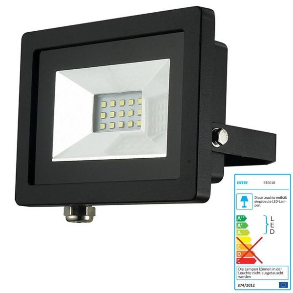 Betterlighting LED Strahler 10W - BT6010 - Alu-Druckguß schwarz