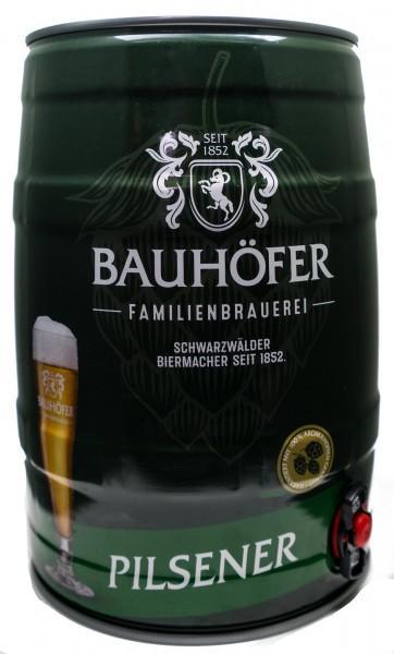 Bauhöfer (Ulmer) Pilsner Partyfass 5,0 Liter 5,2% vol.