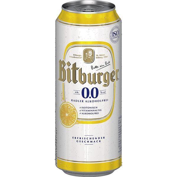 2 x Bitburger Radler ALKOHOLFREI 24 x 0,5L = 48 Dosen_EINWEG