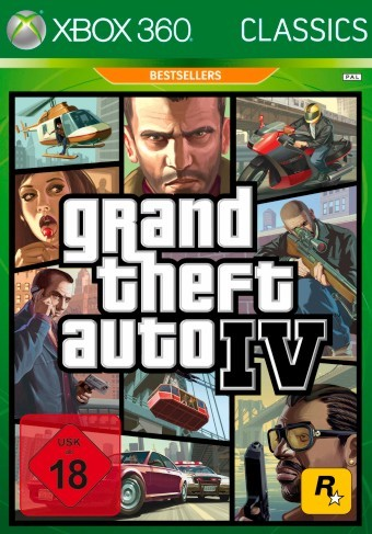 XBOX 360Grand Theft Auto IV