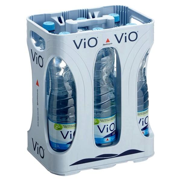 ViO Mineralwasser still 6x1,5 Liter Originalkiste inklusive 3 Euro Pfand MEHRWEG