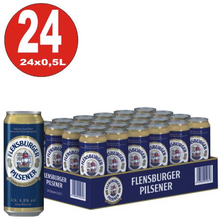 24x 0,5L Dosen Flensburger Pilsener 4,8% Vol.-_EINWEG