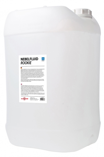 DJ POWER Nebelfluid Rookie 25l